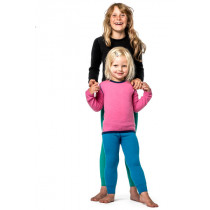 Woolpower Kids Crewneck 200 Sea Star Rose