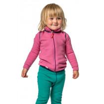 Woolpower Kids Full Zip Jacket 400 Sea Star Rose