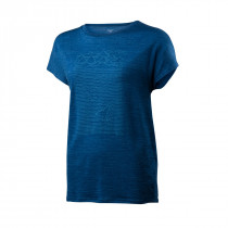 Houdini Women's Activist Message Tee Native Blue