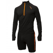 Northern Playground Zipbody™ Wool One-Piece Man Black