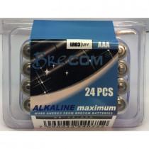 Brecom Batteripakke 24stk. AAA-LR03