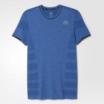 Adidas Adistar Primeknit Tee Men's Eqt Blue