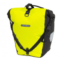 Ortlieb Back-Roller High Visibility Ql2.1 Neon Yellow-Black Reflective 20 L