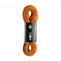 Black Diamond 7.8 Rope - Fulldry Dual Orange 60m