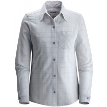 Black Diamond W's Technician Shirt Aluminum-Nickel Plaid