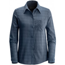 Black Diamond W's Technician Shirt Dark Adriatic-Caspian Plaid
