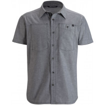 Black Diamond Men's S/S Chambray Modernist Shirt Slate
