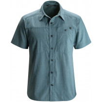 Black Diamond Men's SS Chambray Modernist Shirt Adriatic