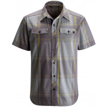 Black Diamond Men's SS Technician Shirt Nickel-Granite Plaid