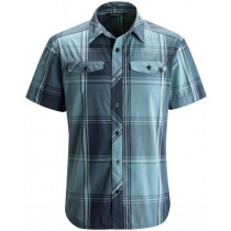 Black Diamond Men's SS Technician Shirt Admiral-Caspian Plaid