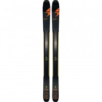 Blizzard Zero G 108 (Flat) Black/Orange