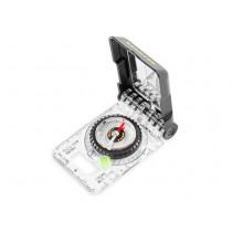Brunton TruArc15 Mirror Compass, Global, Rare Earth, Bubble Level