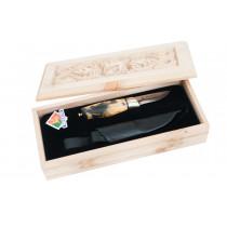 Brusletto Sølvgutten kniv 7cm blad