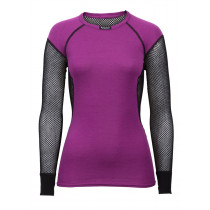 Brynje Lady Wool Thermo Shirt Black/Violet