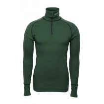 Brynje Zip Polo W/Thumbfingergrip Green