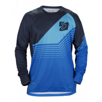 Sweet Protection Chuckanut LS Jersey Midnight Blue/Flash Blue