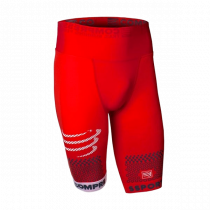 Compressport Trail Running Short Red