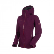 Mammut Convey Tour HS Hooded Jacket Women Grape