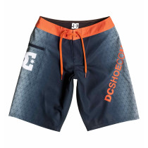 DC Boy's 8-16 Chilled Vibe Boardshorts Chilled Orange