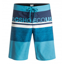 "DC Layle 20"" Board Shorts Men's Blue Moon"
