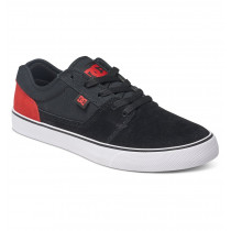 DC Men's Tonik Low-Top Shoes Black/Red/White