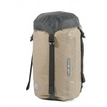 Ortlieb Ultra Lightweight Compression Dry Bag With Valve And Strap Dark Grey 12 L