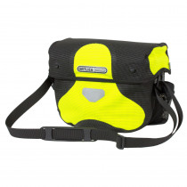 Ortlieb Ultimate6 M High Visibility Neon Yellow- Black Reflective