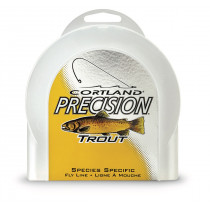 Cortland Precision Platinum Dyna-Tip Sage/White