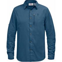Fjällräven Abisko Hike Shirt LS Uncle Blue