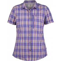 Fjällräven Abisko Hike Shirt SS Women's Purple
