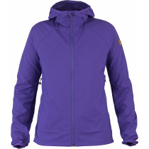 Fjällräven Abisko Hybrid Windbreaker Women's Purple