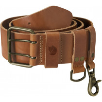 Fjällräven Equipment Belt Leather Cognac