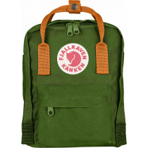 Fjällräven Kånken Mini Leaf Green/Burnt Orange