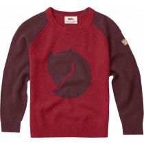 Fjällräven Kids Fox Sweater Dark Garnet