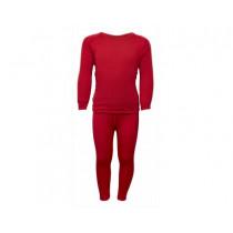 Brynje Arctic Children Shirt/Longs Red