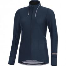 Gore Running Wear Air Lady Windstopper Soft Shell Shirt Long Black Iris