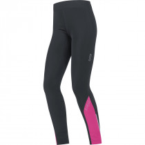 Gore Running Wear Mythos Lady 2.0 Thermo Tights Black/Raspberry Rose