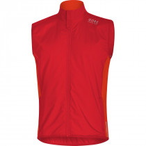 Gore Running Wear Essential Gore Windstopper Insulated Vest Red/Orange.Com
