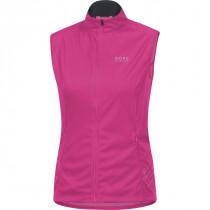 Gore Running Wear Mythos Lady 2.0 Windstopper Soft Shell Light Vest Raspberry Rose
