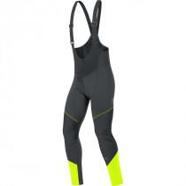 Gore Bike Wear® Element Windstopper Soft Shell Bibtights Black/Neon Yellow