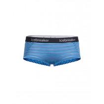 Icebreaker Women's Sprite Hot Pants Mist Blue Heather