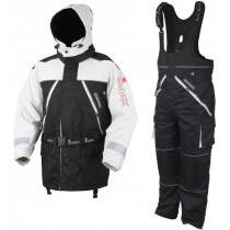 Imax Aquabreathe Floatation Suit 2 Pcs White/Black