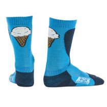 Kask Junior Ice Cream Socks Blue