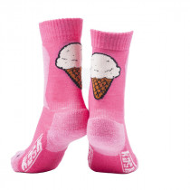 Kask Junior Ice Cream Socks Pink