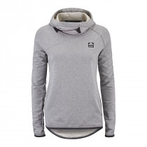 Klättermusen Falen Hoodie Women's Light Grey Melange