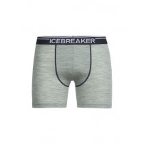 Icebreaker Mens Anatomica Boxers Seaglass Hthr/Stealth