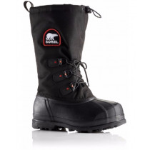 Sorel Glacier Xt Black Red Quartz Herre
