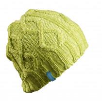 SKIGO Cable Knit Beanie Lime