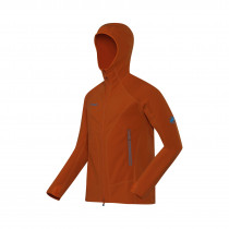 Mammut Eiswand Tech Jacket Men Dark Orange