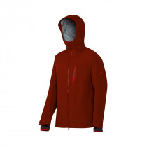 Mammut Alvier Hs Hooded Jacket Men Maroon
